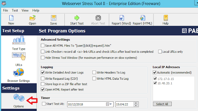 PRTG: Webserver Stress Tool - Parte 2