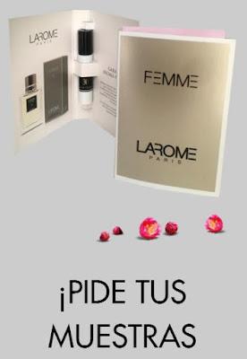 muestras gratis perfumes larome