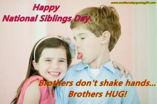 National Siblings Day Memes 2016 Funny Big Sister Memes Happy Sibling day Little Brother Jokes