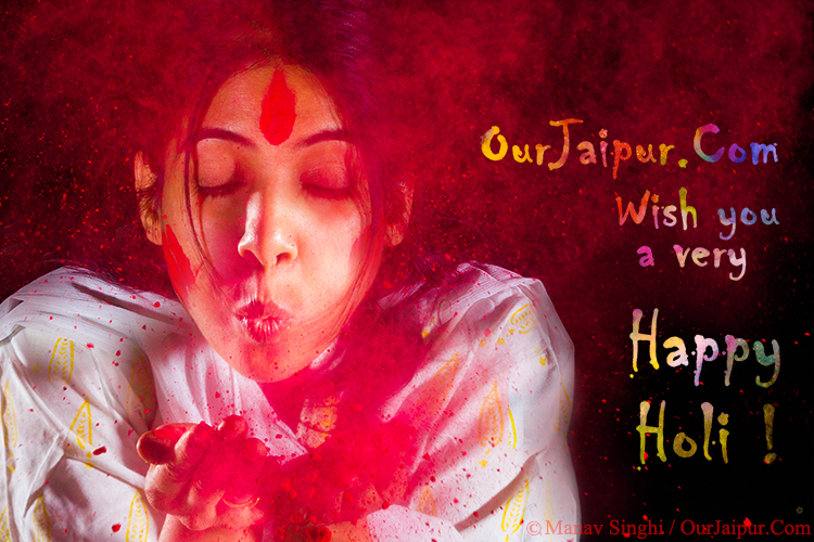Happy Holi ! 2016 Jaipur