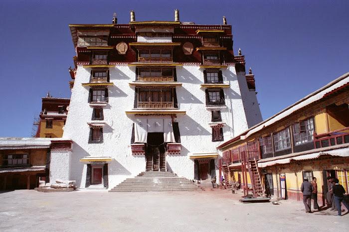 Tibet, Lhassa, Potala, Palais Blanc, © L. Gigout, 1990