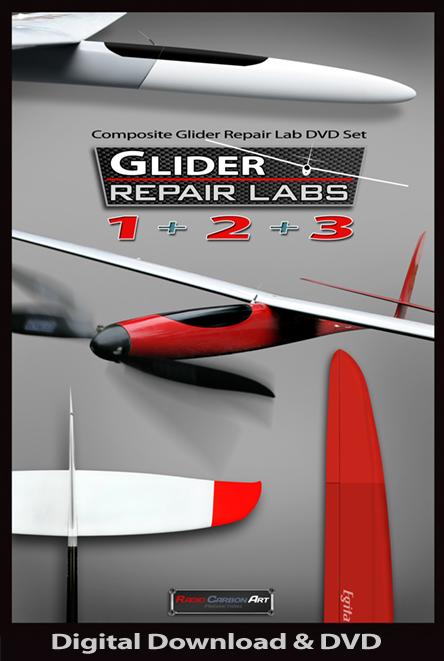 Planet-Soaring: RadioCarbonArt Glider Repair Lab serie