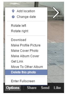 How do i delete photos from facebook arkanpost how do i delete photos from facebook ccuart Gallery