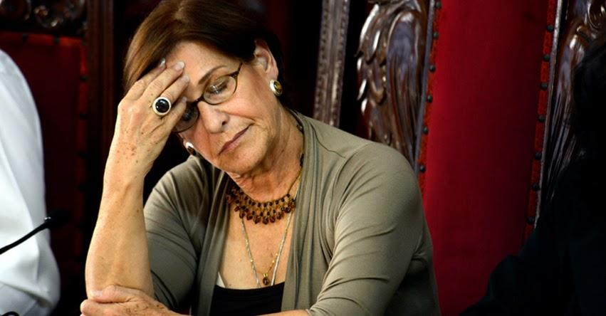 SUSANA VILLARÁN: Este Lunes evalúan pedido de prisión preventiva contra la exalcaldesa de Lima