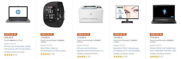Chollos 14-05 Amazon 7 Ofertas del Día y 4 Ofertas Flash