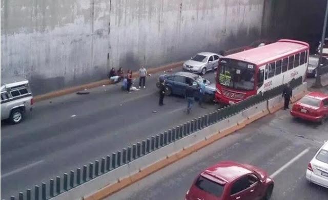 Paso a desnivel para vehículos en Toluca