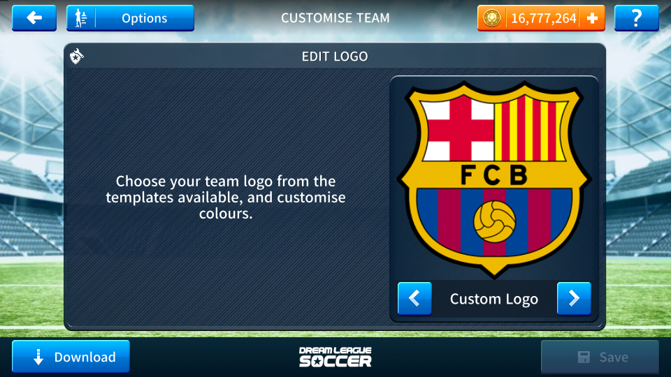 6bb34c2ac Fc Barcelona 2018-2019 Logo and Kits For Dream League Soccer