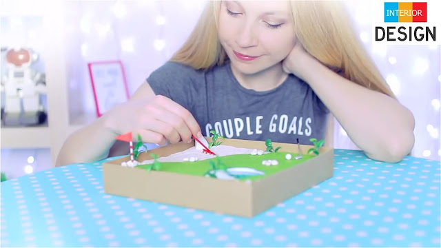 DIY Miniature Golf Zen Garden 3