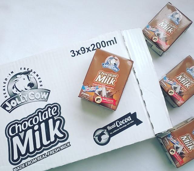 All-Around Pinay Mama Jolly Cow Chocolate Milk