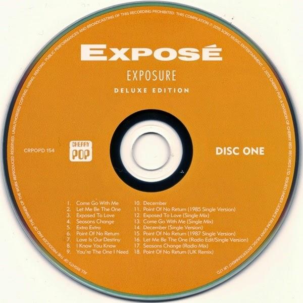MUSIC REWIND: Exposé - Exposure Deluxe Edition (2 Cds)