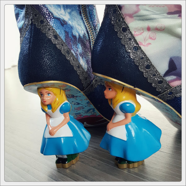 irregular choice lost your muchness alice character heels