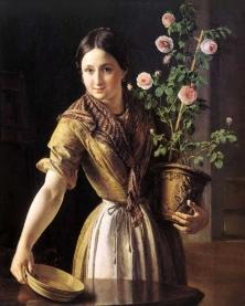 Подборка картин Девушки в живописи