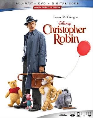 Christopher Robin 2018 Blu Ray