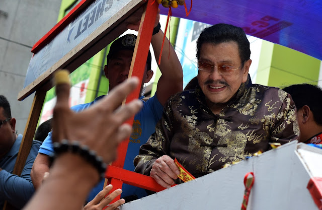 Manila Mayor Joseph Estrada
