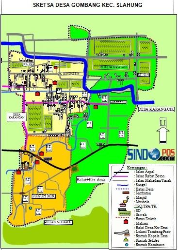 Profil Desa & Kelurahan, Desa Gombang Kecamatan Slahung Kabupaten Ponorogo