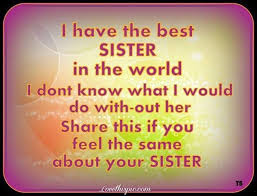 sister birthday messages and with quotes