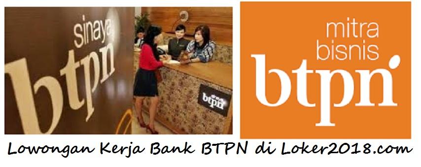 Loker 2018 Bank BTPN
