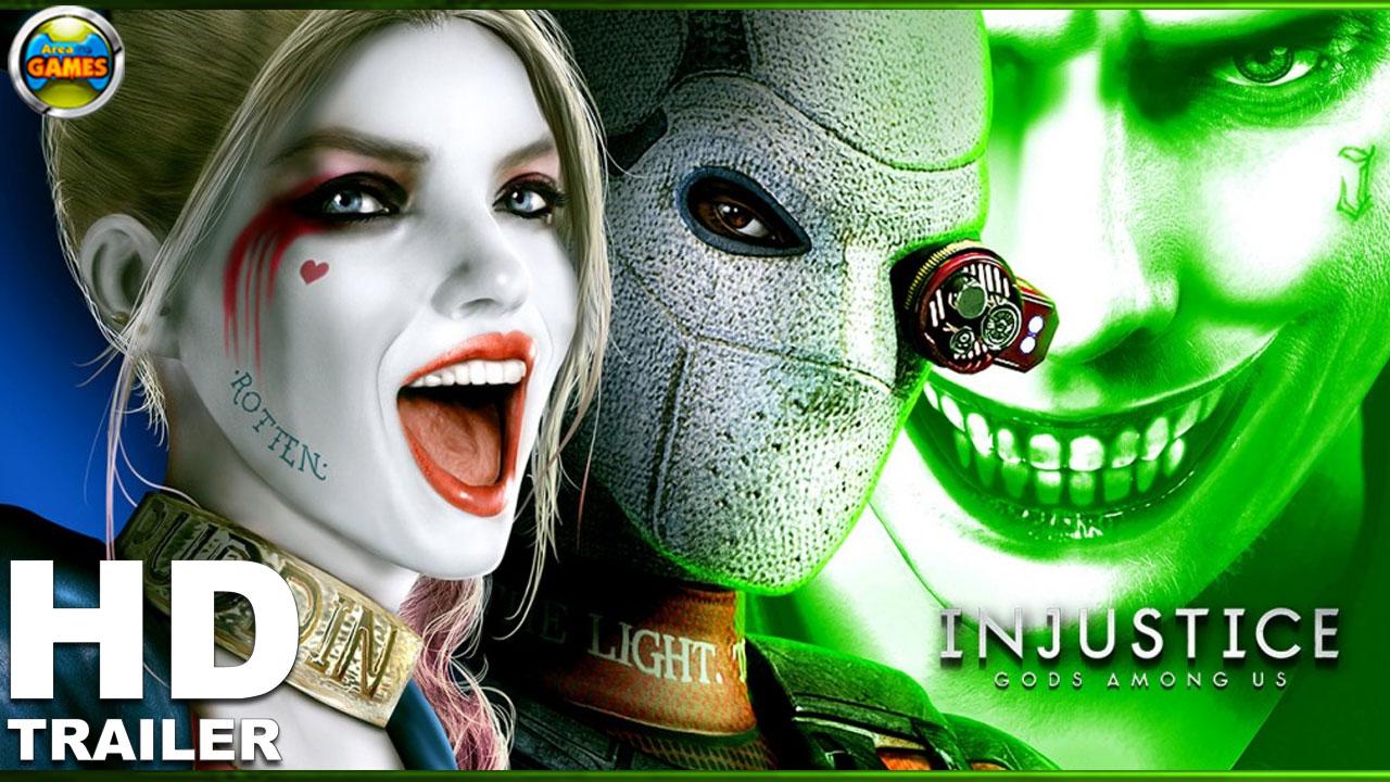 Injustice Gods Among Us Mobile Suicide Squad Trailer Area De Games