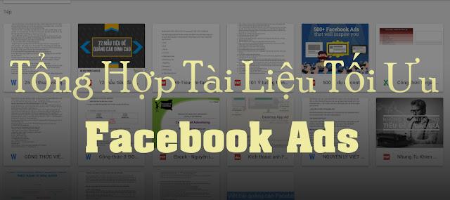 Tổng hợp tài liệu facebook marketing