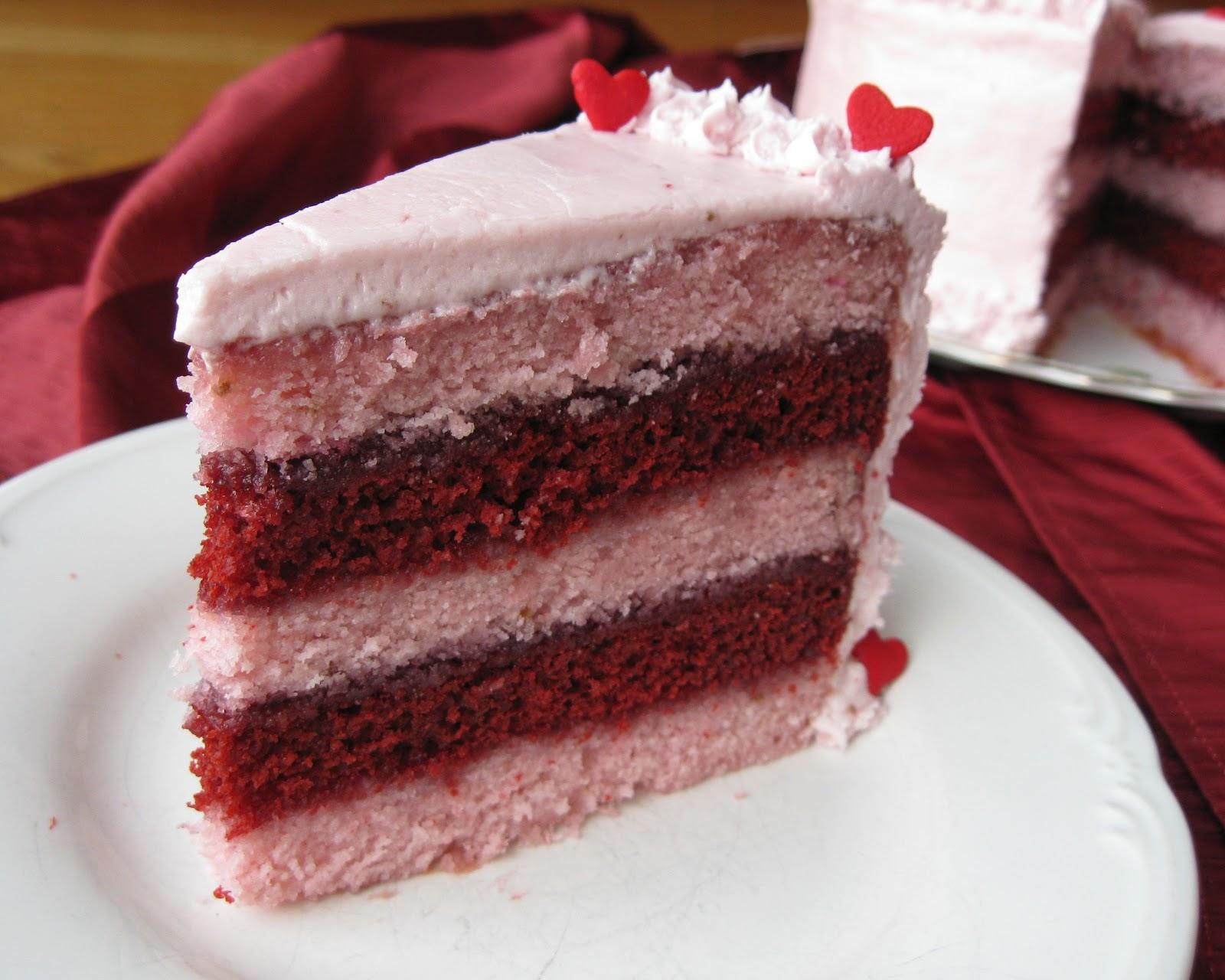 Ein weiteres Bild von valentines day red velvet cake recipe Valentines Day Red Velvet Cake Recipe