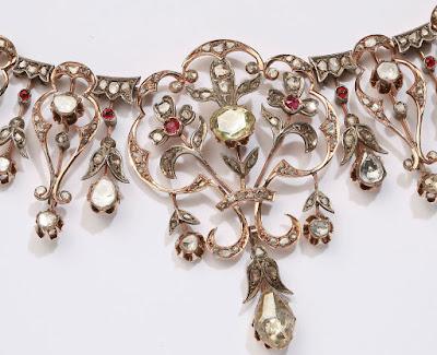 crown princess mary denmark ruby necklace tiara