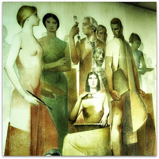 'As Artes, de Aldo Locatelli - Instituto de Artes da UFRGS, Porto Alegre