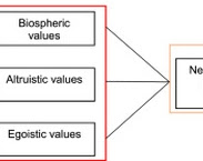 Fig. 1. Value-belief-norm model to predict intention to accept new sanitation. In: Acceptance of new sanitation: the role of end-users' pro-environmental personal norms and risk and benefit perceptions