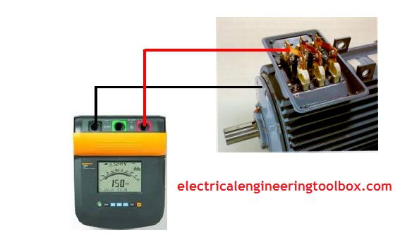How to measure electric motor insulation resistance for How to check ac motor