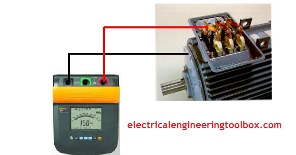 how to measure electric motor insulation resistance learning