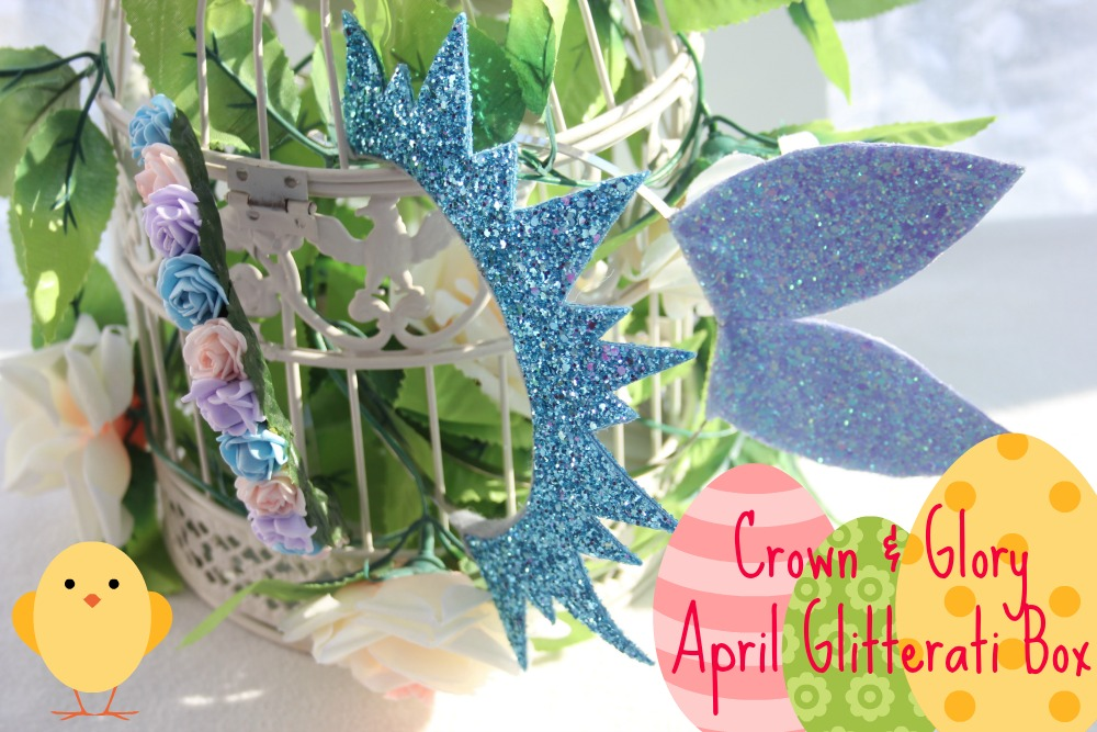 CROWN AND GLORY GLITTERATI BOX APRIL