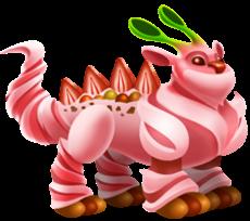 imagen del dragon froyo de dragon city