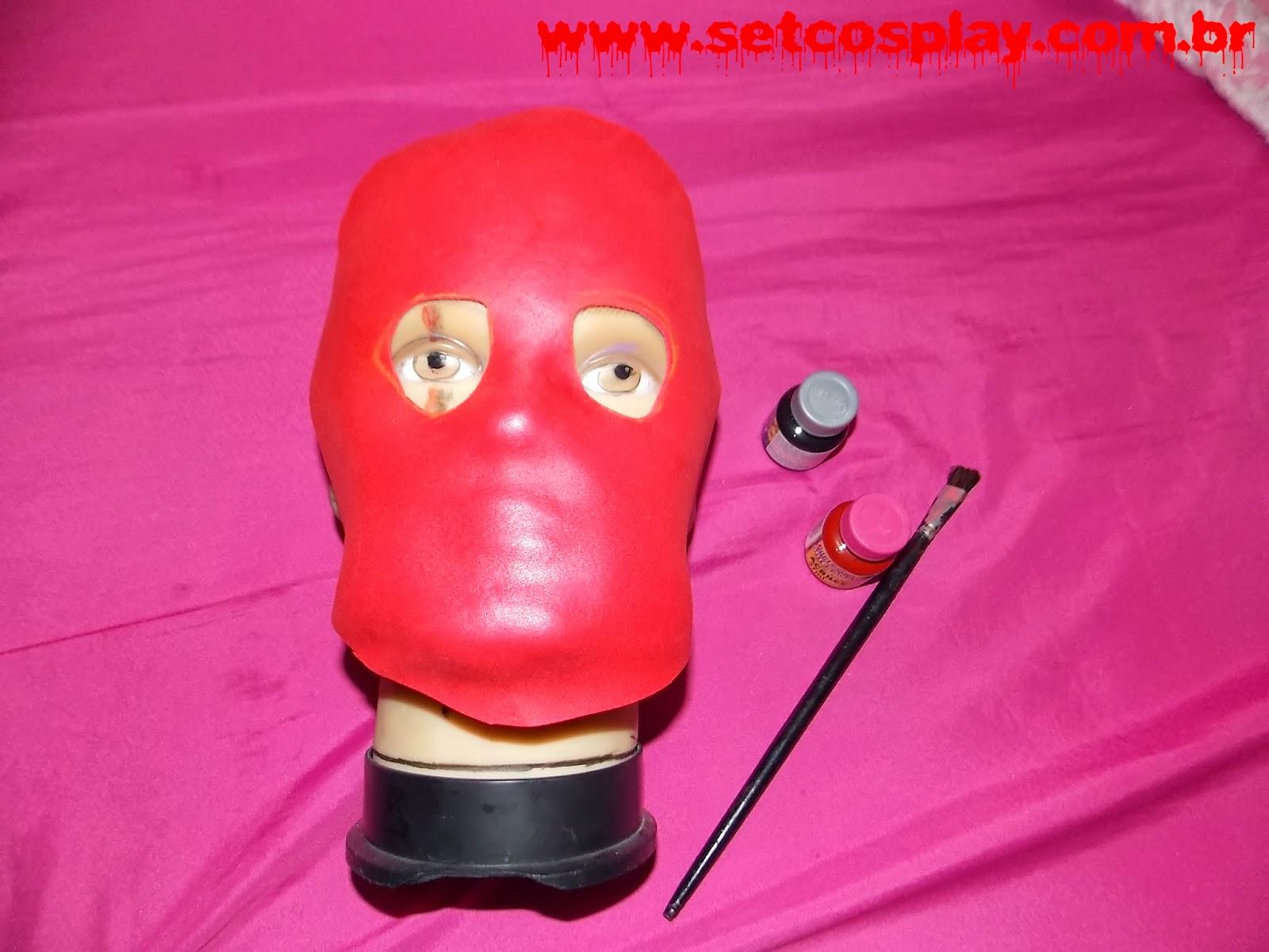 SetCosplay   TUTORIAL  Como fazer a máscara do Jason (Sexta-Feira 13) a3475a5d82a