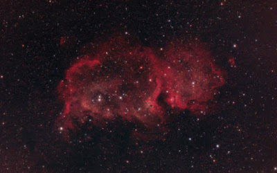 The Soul Nebula using an Apochromatic Refractor Telescope