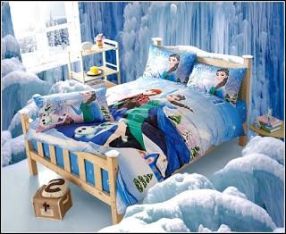model tempat tidur frozen 4