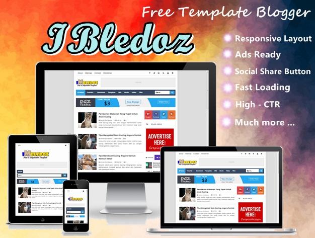 Imbledoz Free Blogger Template 2017
