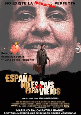 el villano arrinconado, humor, chistes, reir, satira, Mariano Rajoy, Fatima Ibañez, Jubilacion