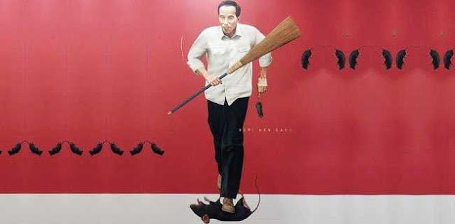 Banyak 'Tikus' di Parpol Koalisi, Jokowi Siapkan Sapu