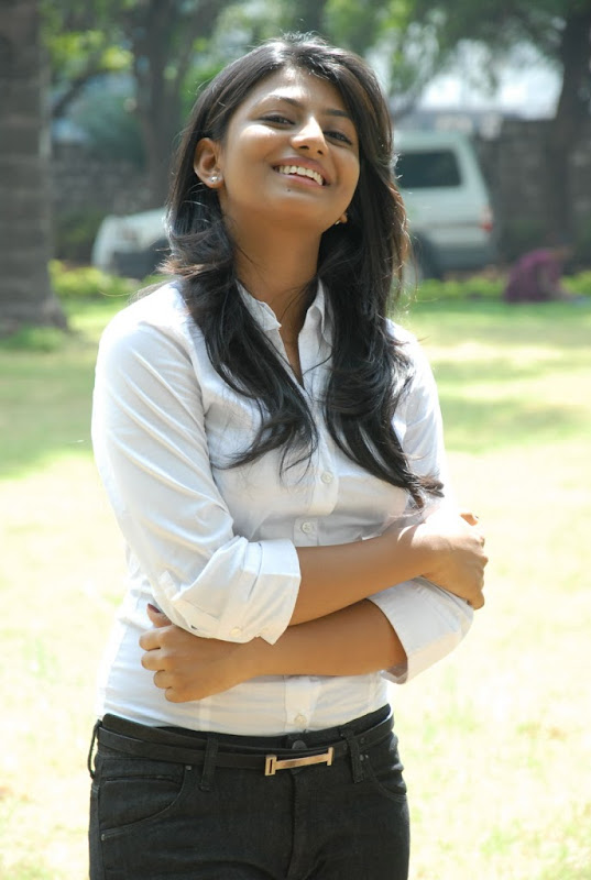 Rakshita Latest Photos At Bus Stop Movie Press Meet