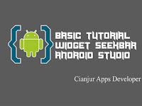 Cara Menerapkan Widget SeekBar Android Studio