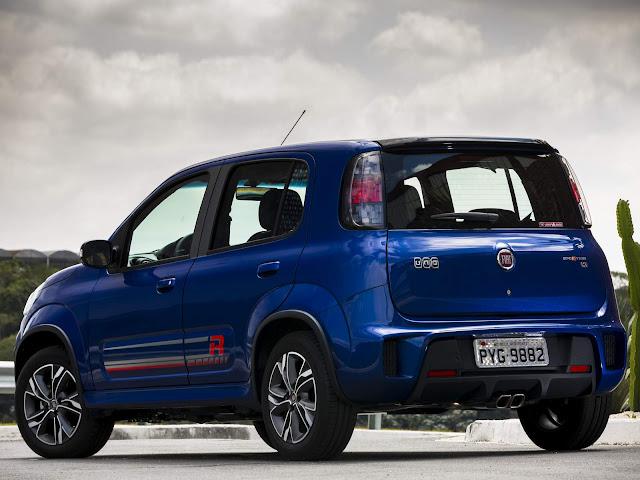 Novo Fiat Uno 2017 Sporting