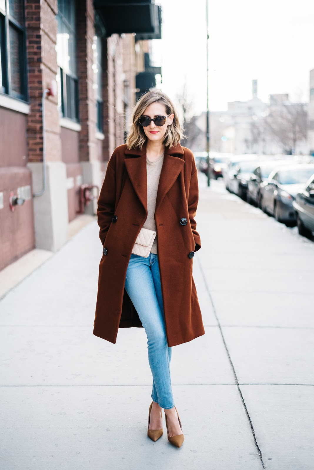 Rust Colored Coat See Jane Wear