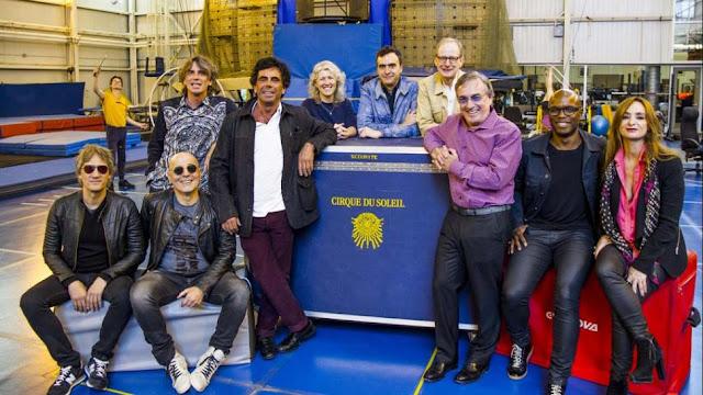 Soda Stereo Cirque du Soleil