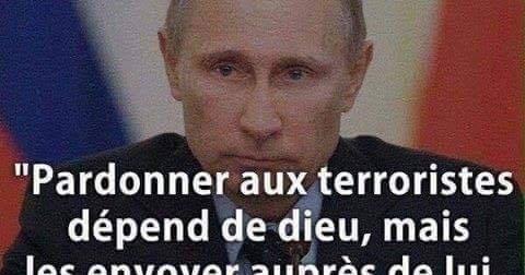 Poutine%2Bet%2Bterroristes pour une sociÉtÉ au service de l'humain vladimir poutine ennemi