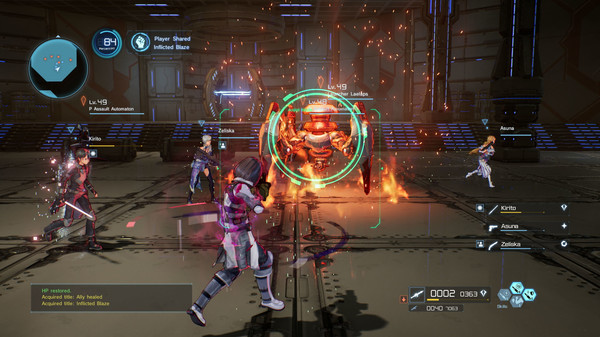 Sword Art Online Fatal Bullet PC Full Version Screenshot 1