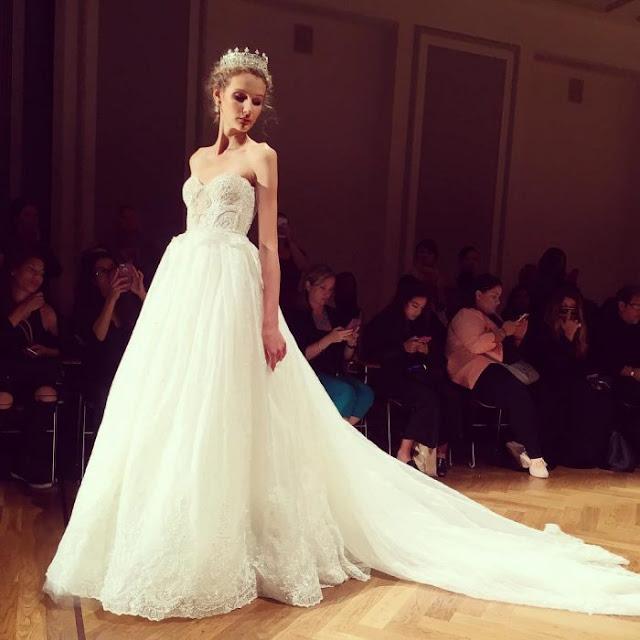 Si algún día me caso, quiero que mi vestido sea así