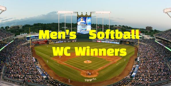 ISF, WBSC,  Men's Softball World Championship, champions,  Winners , Teams , List