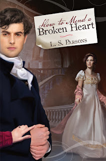 Book cover: How to Mend a Broken Heart by L S Parsons