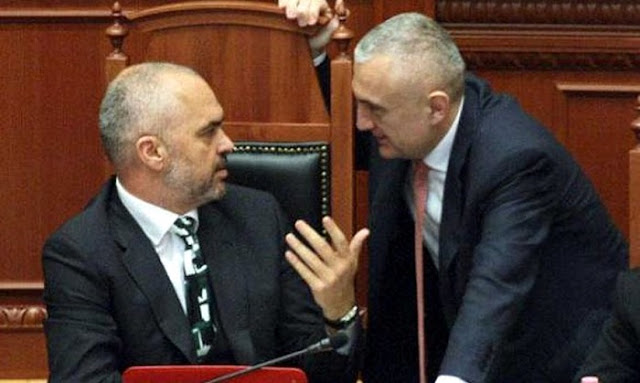 Albanian Prime Rama sends the President Ilir Meta to Constitutional Court