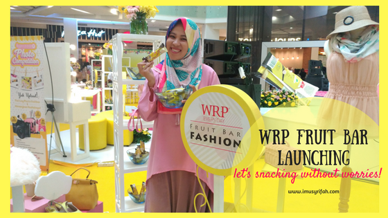 WRP Fruit Bar Snacks Review & Launching Event