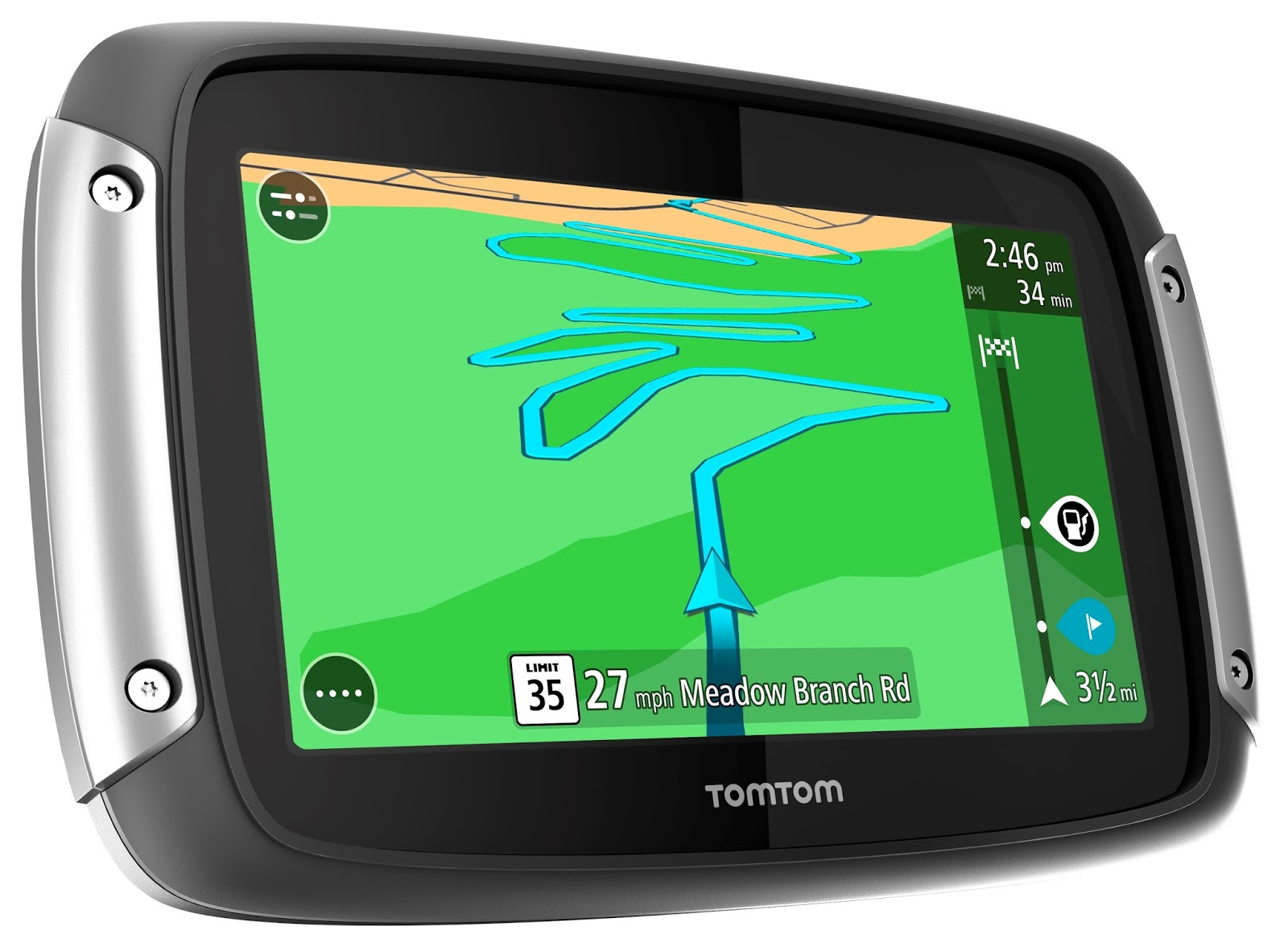 tomtom announces motorcycle gps with new features biker. Black Bedroom Furniture Sets. Home Design Ideas